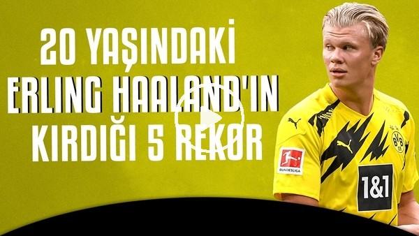 'Dünyanın 60 metreyi en hızlı koşan futbolcusu Erling Haaland
