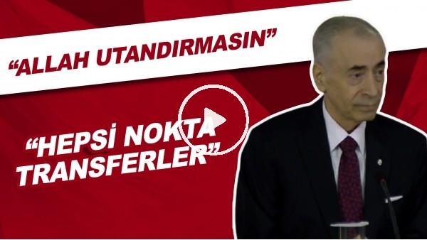 """Mustafa Cengiz: """"Allah Utandırmasın, Hepsi Nokta Transferler"""""""