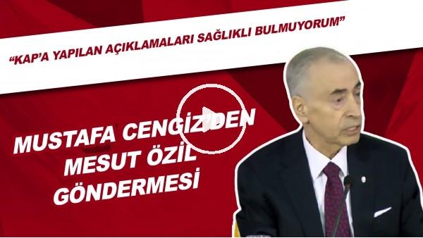 """Mustafa Cengiz'den Mesut Özil Göndermesi   """"KAP'a Yapılan Açıklamaları Sağlıklı Bulmuyorum"""""""