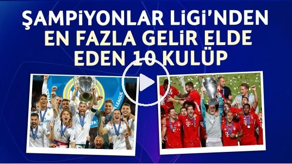 'Zirvedeki Takım Hangisi? | Şampiyonlar Ligi'nde En Çok Para Kazanan Kulüpler!