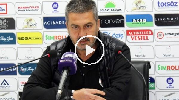 """'Semih Tokatlı: """"Hatayspor, hiçbir maçta bu kadar baskı yememiştir"""""""
