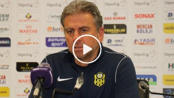 """'Hamza Hamzaoğlu: """"Talihsiz bir mağlubiyet aldık"""""""
