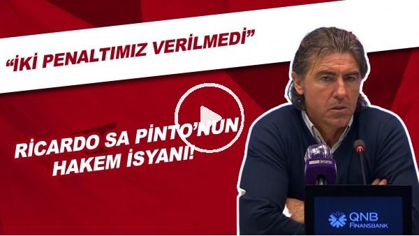 """'Gaziantep FK Teknik Direktörü Ricardo Sa Pinto: """"Hakem 2 Penaltımızı Vermedi"""""""