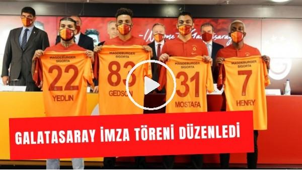 Galatasaray İmza Töreni Düzenledi  Futbolcuların Açıklamaları