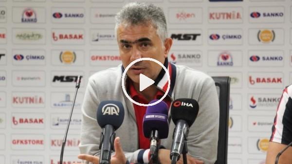 """'Mehmet Altıparmak: """"Bu ligde kalmak bizim birinci hedefimiz"""""""