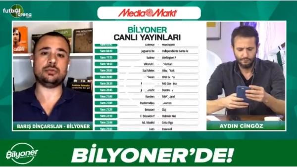 'Barış Dinçarslan, Beşiktaş - Konyaspor maçı için tahminini yaptı