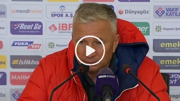 """'Dan Petrescu: """"Maçın hakkı bizim için bir galibiyetti"""""""