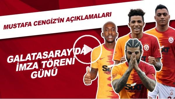 Galatasaray'da Yeni Transferler İçin İmza Töreni Düzenledi | Mustafa Cengiz'in Açıklamaları