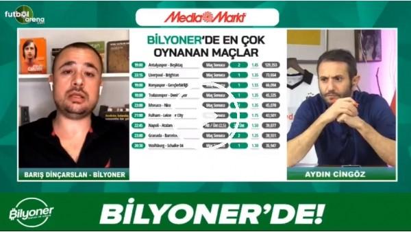 'Barış Dinçarslan, Antalyaspor - Beşiktaş maçı için tahminini yaptı