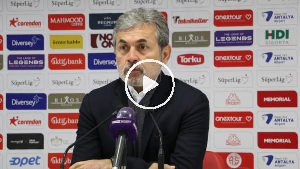"""'Aykut Kocaman: """"Tek tesellimiz gol yemeden maçı bitirmek oldu"""""""