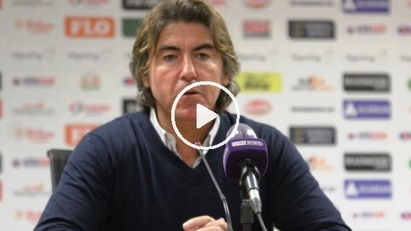 """'Ricardo Sa Pinto: """"Daha fazla maç kazanmak istiyoruz"""""""
