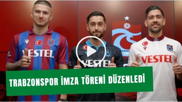 'Trabzonspor, Teni Transferlere İmza Töreni Düzenledi | Futboolcuların Açıklamaları