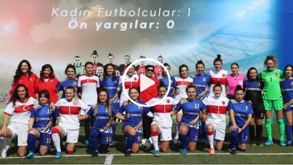 '8 Mart Dünya Kadınlar Günü'nde gösteri maçı