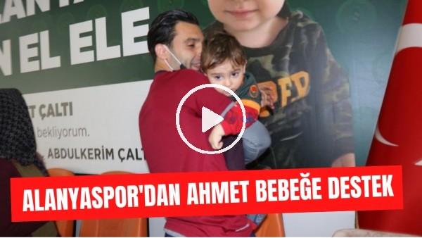 'Alanyaspor'un ilk galibiyet primini SMA hastası 18 aylık Ahmet için bağışlanacak