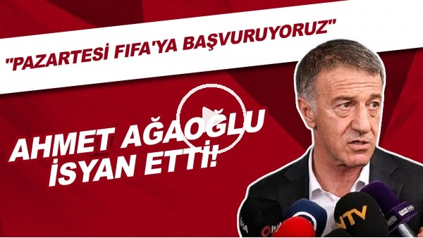 'Ahmet Ağaoğlu İsyan Etti!