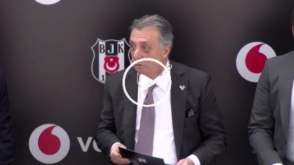 """'Ahmet Nur Çebi: """"Beşiktaş Kadın Futbol Takımı'nın gücünü rakiplerimize gösteceğiz"""""""