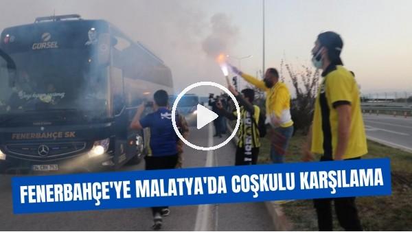 'Fenerbahçe'ye Malatya'da coşkulu karşılama