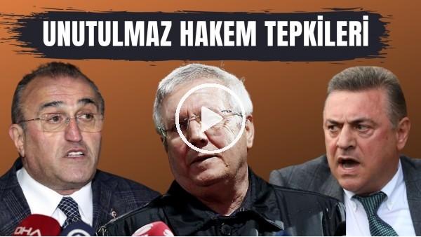 'Türk futbol tarihine geçen unutulmaz hakem tepkileri