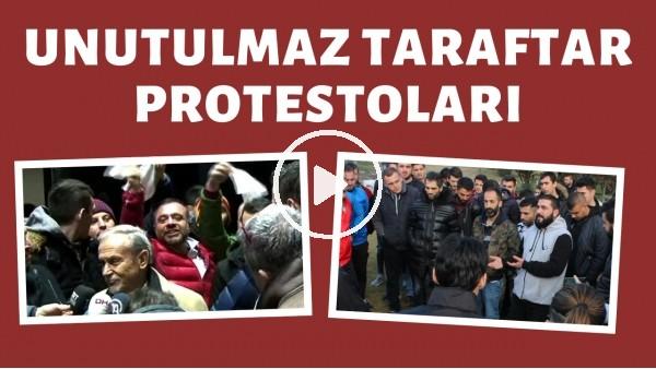 'Türk futbol tarihine geçen unutulmaz taraftar protestoları