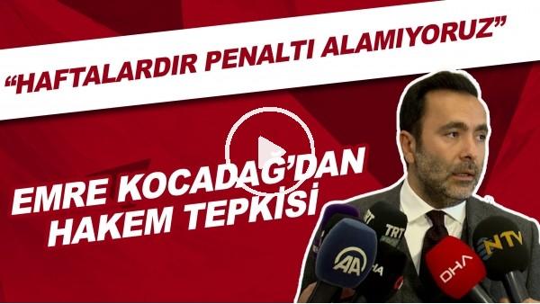 """'Beşiktaş Asbaşkanı Emre Kocadağ'dan hakem tepkisi! """"Haftalardır penaltı alamıyoruz"""""""