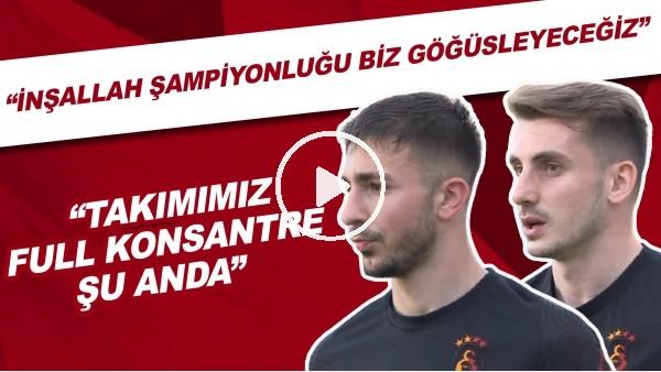 'Kerem Aktürkoğlu ve Halil Dervişoğlu'nun Yeni Malatyaspor maçı öncesi açıklamaları