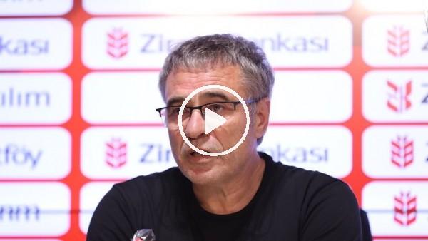 'Antalyaspor'da Ersun Yanal ve Podolski, Beşiktaş maçı öncesi basın toplantısı düzenledi