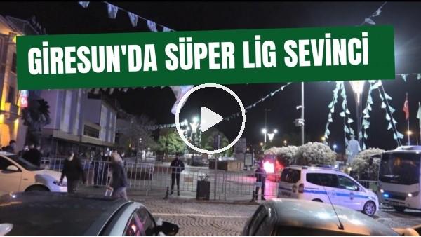 'Giresun'da Süper Lig sevinci |  44 yıllık hasret sona verdi