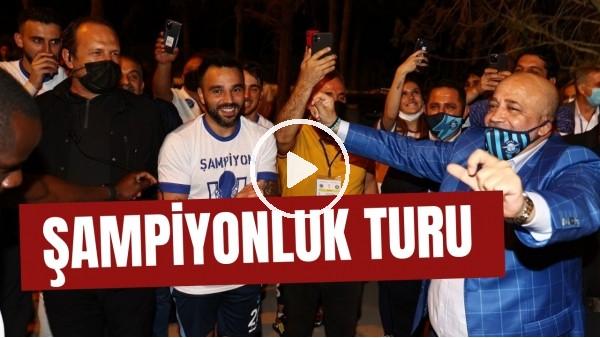 'Adana Demirspor'dan gece 03:00'te şampiyonluk turu