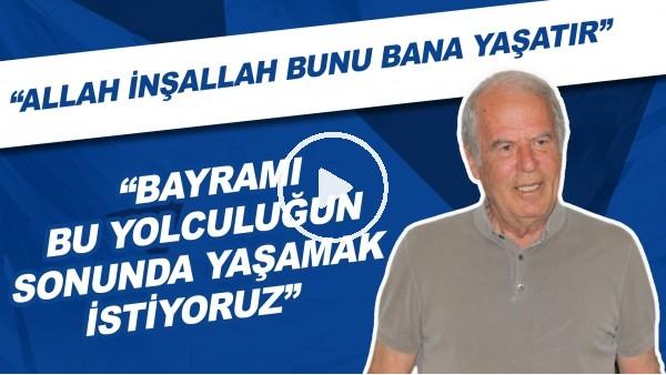 """'Altay Teknik Direktörü Mustafa Denizli: """"Bayramı bu yolculuğun sonunda yaşamak istiyoruz."""""""