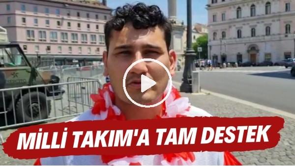 İtalya - Türkiye maçına doğru| Ay-Yıldızlı taraftarlardan tam destek