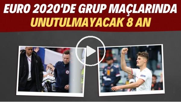 'EURO 2020'de grup maçlarında unutulmayacak 8 an | Patrik Schick patlama yaptı