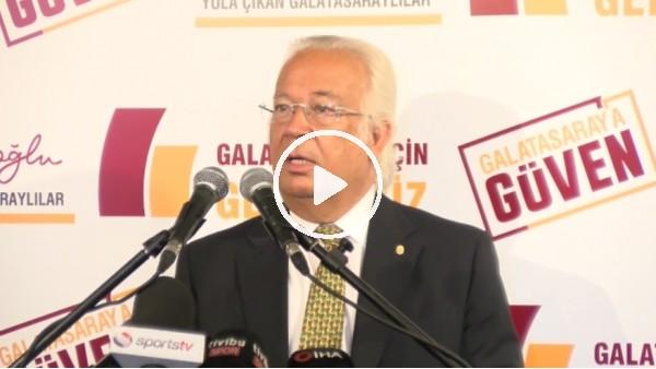 'Eşref Hamamcıoğlu basın mensuplarıyla buluştu | Fatih Terim ile devam edilecek mi?