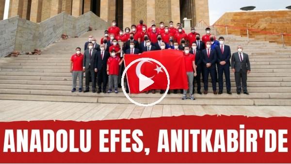 Euroleague ve Basketbol Süper Ligi şampiyonu Anadolu Efes, Anıtkabirde