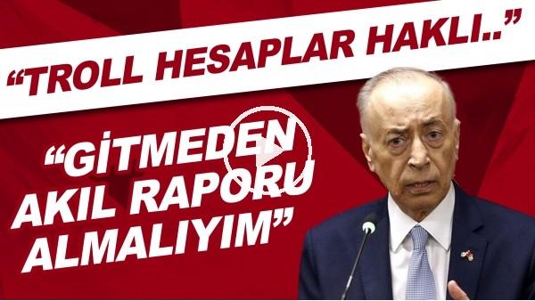 """'Mustafa Cengiz: """"Başkanlığa aday olmamamın tek sebebi sağlık."""""""