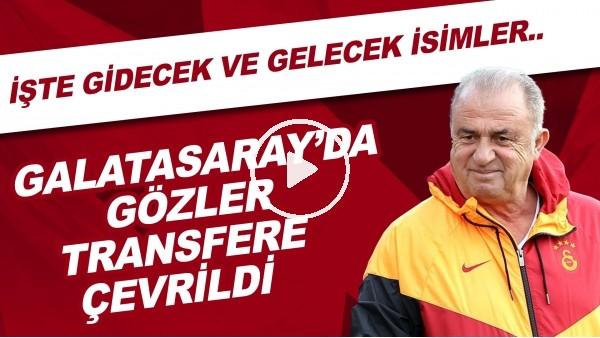 'Galatasaray'da gözler transfere çevrildi! İşte gidecek ve gelecek isimler...