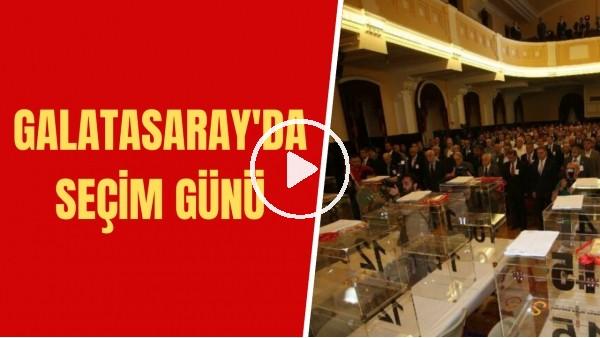'Galatasaray'da seçim günü | Kaç katılımcı olacak? | Sizce kim kazanır?