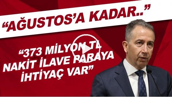 """'Galatasaray Başkan Adayı Metin Öztürk: """"Ağustos'a kadar 373 milyon TL nakit paraya ihtiyaç var"""""""