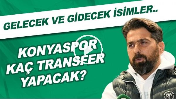 'Konyaspor kaç transfer yapacak? | Sözleşmesi biten futbolcular | Gelecek ve gidecek isimler...