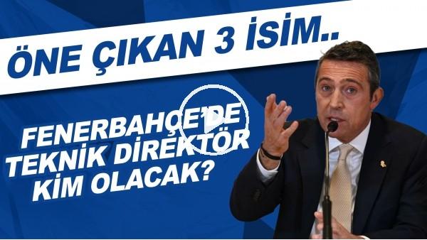 'Fenerbahçe'de teknik direktör kim olacak? | Öne çıkan 3 isim..