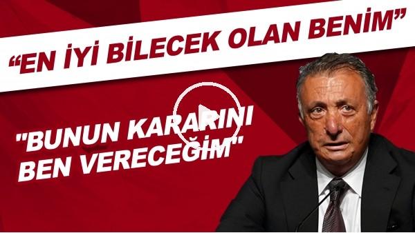 """'Ahmet Nur Çebi'den medyda çıkan haberlere tepki! """"En iyi bilecek olan benim"""""""