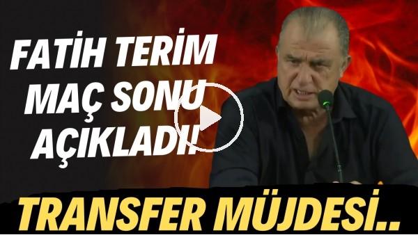 'Fatih Terim'den transfer müjdesi! PSV maçı sonrası açıkladı..