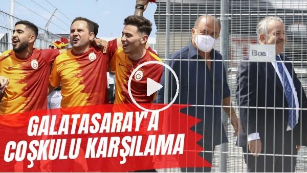 'Galatasaray'a Hollanda'da coşkulu karşılama