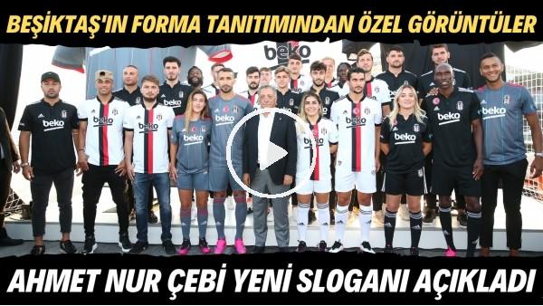 'Beşiktaş'ın Boğaz'da forma tanıtımından özel görüntüler | Ahmer Nur Çebi yeni sloganı açıkladı