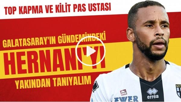 'Galatasaray'ın gündemindeki Hernani'yi yakından tanıyalım | Top kapma ve kilit pas ustası