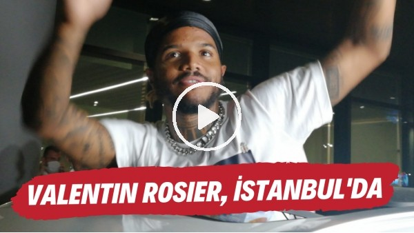 'Valentin Rosier, İstanbul'da | Fransız futbolcu Beşiktaş taraftarına üçlü çektirdi