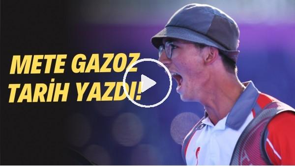 """'Tarih yazan Mete Gazoz'un 2017 yılındaki açıklamaları! """"Tokyo 2020'ye şampiyon olmak için gidiyorum"""""""