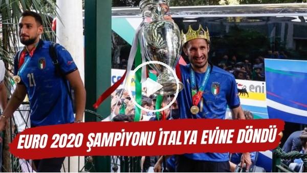 EURO 2020 Şampiyonu İtalya evine döndü