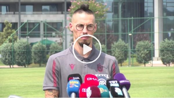 """'Marek Hamsik'ten iddialı sözer! """"Napoli'de yaşayamadığım şampiyonluğu Trabzon'da yaşamak istiyorum"""""""