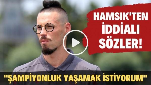 """'Marek Hamsik'ten şampiyonluk için iddialı sözler! """"O duyguyu yaşamak istiyorum"""""""
