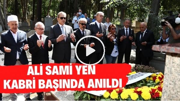 'Ali Sami Yen, vefatının 70. yılında mezarı başında anıldı | Burak Elmas'tan duygusal mesaj